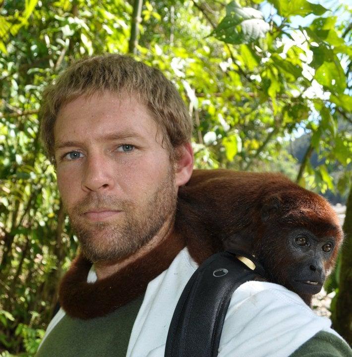 Animal shelter monkey sanctuary